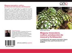 Couverture de Maguey mezcalero, cultivo, producción de mezcal y fertilización