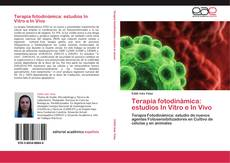 Bookcover of Terapia fotodinámica: estudios In Vitro e In Vivo