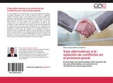 Bookcover of Vías alternativas a la solución de conflictos en el proceso penal