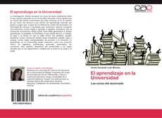 Bookcover of El aprendizaje en la Universidad