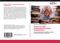 Cómo escribir exitosamente textos académicos kitap kapağı