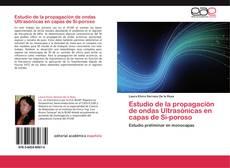 Portada del libro de Estudio de la propagación de ondas Ultrasónicas en capas de Si-poroso