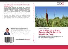 Capa do livro de Las arañas de la Zona Reservada Pantanos de Villa Lima, Perú