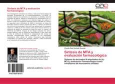 Capa do livro de Síntesis de MTA y evaluación farmacológica