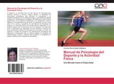 Portada del libro de Manual de Psicología del Deporte y la Actividad Física