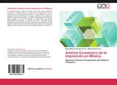 Capa do livro de Análisis Económico de la Imposición en México