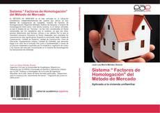 """Обложка Sistema """" Factores de Homologación"""" del Método de Mercado"""