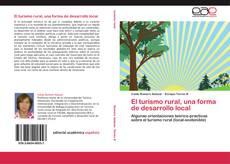 Portada del libro de El turismo rural, una forma de desarrollo local