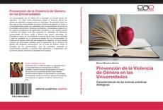 Bookcover of Prevención de la Violencia de Género en las Universidades