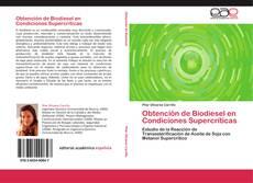 Portada del libro de Obtención de Biodiesel en Condiciones Supercríticas