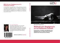 Portada del libro de Maltrato por Negligencia en la Población Infantil.