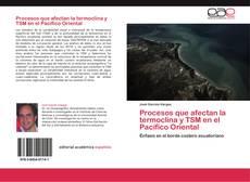 Capa do livro de Procesos que afectan la termoclina y TSM en el Pacífico Oriental