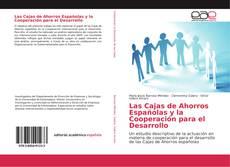 Buchcover von Las Cajas de Ahorros Españolas y la Cooperación para el Desarrollo