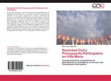 Обложка Sociedad Civil y Presupuesto Participativo en Villa María