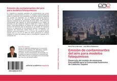 Portada del libro de Emisión de contaminantes del aire para modelos fotoquímicos