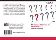Couverture de Métodos y Técnicas de Investigación