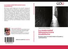 Portada del libro de La modernidad latinoamericana insatisfecha