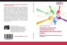 Portada del libro de Análisis crítico del curriculum de la asignatura de educación cívica
