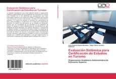 Borítókép a  Evaluación Sistémica para Certificación de Estudios en Turismo - hoz