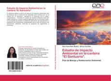 """Portada del libro de Estudio de Impacto Ambiental en la cantera """"El Santuario""""."""