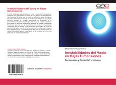 Portada del libro de Inestabilidades del Vacío en Bajas Dimensiones