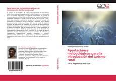Portada del libro de Aportaciones metodológicas para la introducción del turismo rural