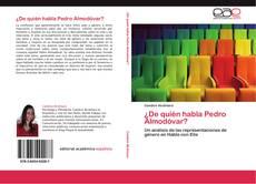 Buchcover von ¿De quién habla Pedro Almodóvar?