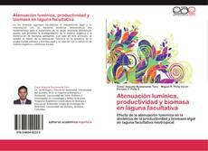 Portada del libro de Atenuación lumínica, productividad y biomasa en laguna facultativa