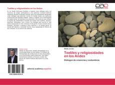 Textiles y religiosidades en los Andes kitap kapağı