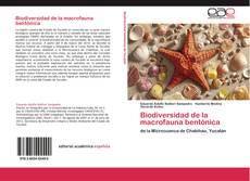 Bookcover of Biodiversidad de la macrofauna bentónica