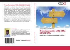 Portada del libro de Transformación UML-XML-BDOR-UML