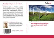 Bookcover of Distintas topologías del convertidor matricial