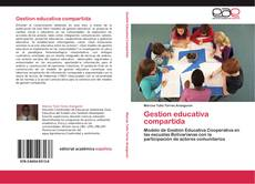 Buchcover von Gestion educativa compartida