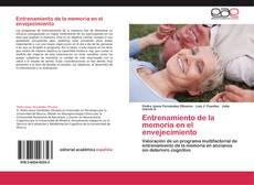 Bookcover of Entrenamiento de la memoria en el envejecimiento