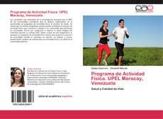 Copertina di Programa de Actividad Física. UPEL Maracay, Venezuela