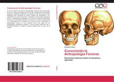 Borítókép a  Conociendo la Antropología Forense - hoz