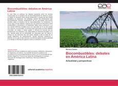 Portada del libro de Biocombustibles: debates en América Latina
