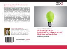 Portada del libro de Aplicación de la Legislación Laboral en los Diseños Industriales