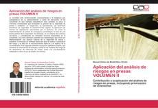 Portada del libro de Aplicación del análisis de riesgos en presas VOLUMEN II