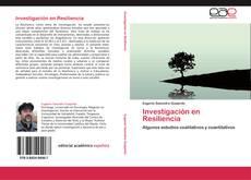 Copertina di Investigación en Resiliencia