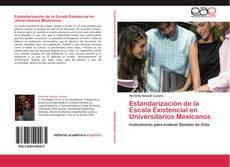 Copertina di Estandarización de la Escala Existencial en Universitarios Mexicanos