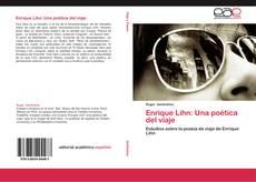 Buchcover von Enrique Lihn: Una poética del viaje