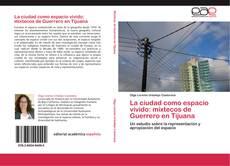 Bookcover of La ciudad como espacio vivido: mixtecos de Guerrero en Tijuana