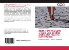 Bookcover of ALBA y MERCOSUR: ¿Hacia una política ambiental regional sustentable?