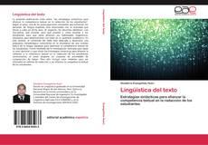 Borítókép a  Lingüística del texto - hoz