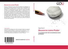 Docencia como Poder kitap kapağı