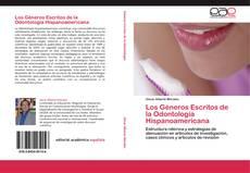 Capa do livro de Los Géneros Escritos de la Odontología Hispanoamericana