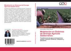 Portada del libro de Modelación en Sistemas de Drenaje Agrícola Subterráneo