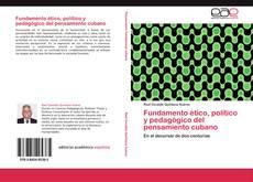 Copertina di Fundamento ético, político y pedagógico del pensamiento cubano