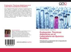 Buchcover von Evaluación: Técnicas didácticas en el Laboratorio de Química Analítica